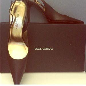 Dolce & Gabbana Sling Backs - Never Worn!